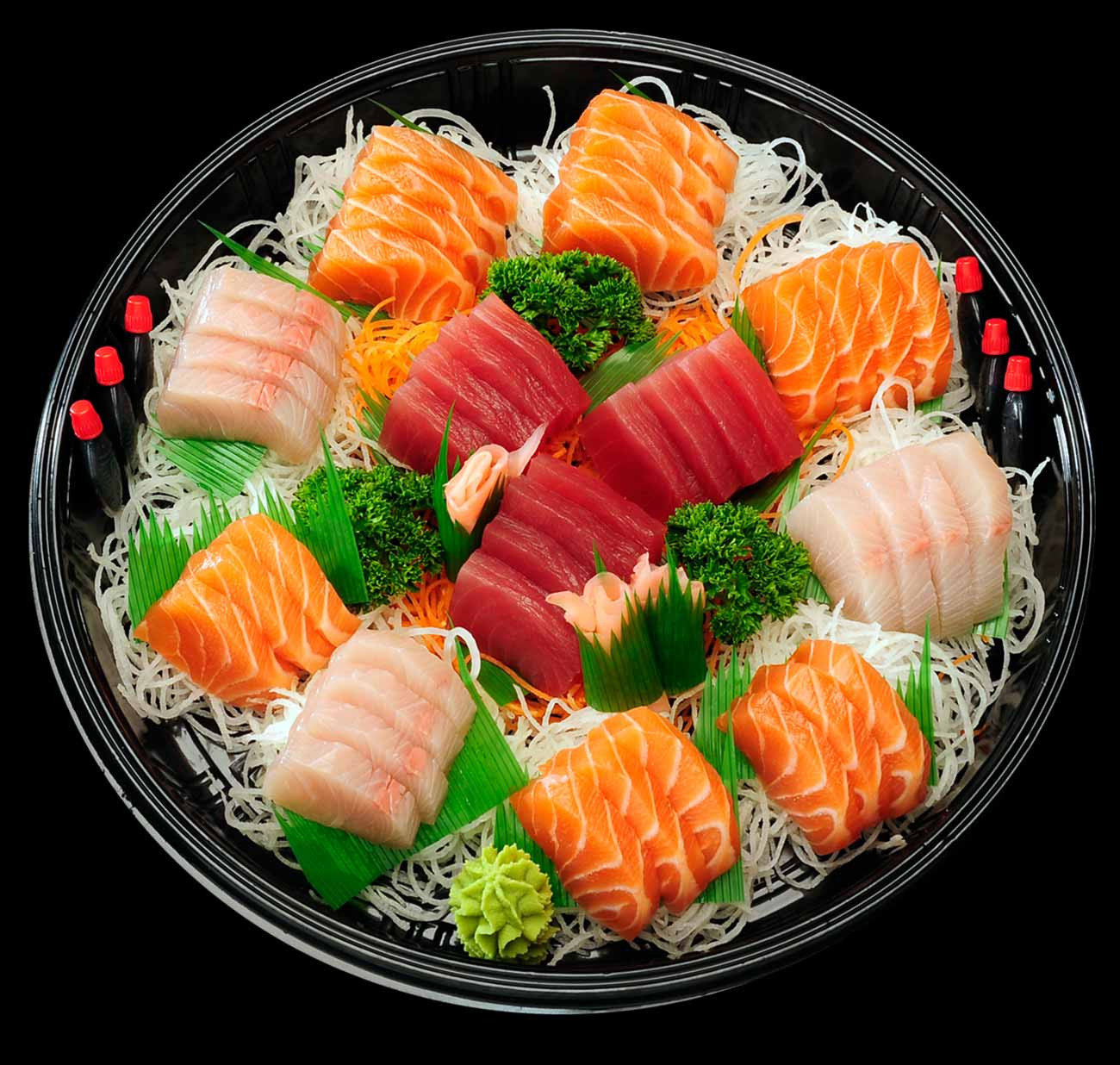 12. Assorted Sashimi Platter (45 pcs)