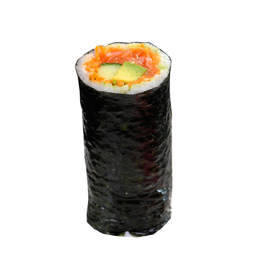 Raw Salmon Roll