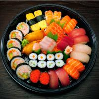 4. Assorted Nigiri Sushi, Sashimi and Nori Maki (42 pcs)