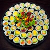 1. Mixed Assorted Nori Maki Platter (100 pcs)