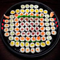 2. Mixed Assorted Maki Platter (80 pcs)