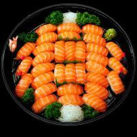 6. Salmon Nigiri Sushi Platter (32 pcs)