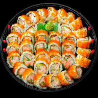 11. Seafood California Nori Maki (40 pcs)