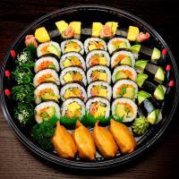 8. Vegetarian Sushi Platter (35 pcs)